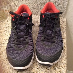 Nike Training Black/Gray/Orange Men's Sneakers